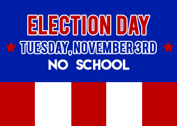 Woodlawn Schools - ELECTION DAY - NO SCHOOL